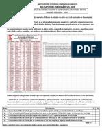 Actividad Del Ordenamiento y Filtrado de Listas de Datos en La Hoja de Calculo Excel