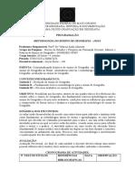PROGRAMAÇÃO METODOLOGIA DO ENSINO DE GEOGRAFIA 20201