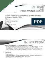 GES800 M01 Présentation Du Cours