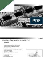 1 Materiales Semiconductores y unión PN