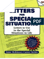 Letters For Special Situations Letters to use in the special situations in life-