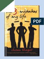 Chetan Bhagat - 3 Mistakes Of My Life