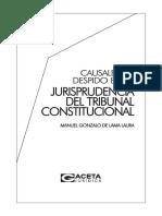 51. CAUSALES DE DESPIDO EN LA JURISPRUDENCIA DEL TRIBUNAL CONSTITUCIONAL