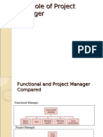 Role of Project Manager