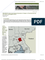 Reports_ Burma Army Restricts Movements of Villagers as They Build New Dam and Camps in Nyaunglebin District