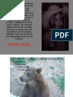 Animales - Lydia Cruz