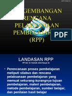 PENGEMBANGAN RPP