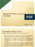 BBA Management History