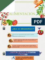 ALIMENTACION, NUTRICIÓN Y DIETOTERAPIA
