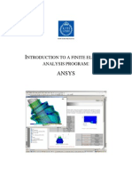 Ansys12 Classic Tutorial Lab1