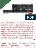 TEXTOS FILOSÓFICOS  METAFÍSICA
