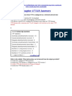 CCNA 3 Chapter 4 V4.0 Answers 2011