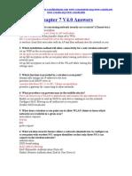 CCNA 3 Chapter 7 V4.0 Answers 2011