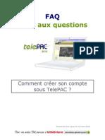 TelePAC-2010_FAQ_Creation-compte_V1