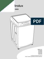 Manual de Uso Lavarropas ELAC210S