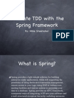 Spring and TDD