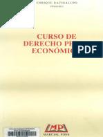 447 - Bacigalupo - Curso de Derecho Penal Económico