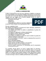 MSPP - Appel a Candidature Pour UEP - 10 Au 17 Novembre 2020(2)