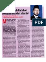 Fahaman Syiah Rafidhah Menyalahi Akidah Islamiah