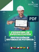 Brochure Programa de Especialización - Protección en Sistemas de Potencia