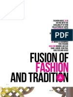 Fusion of Fashion and Tradition