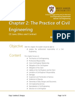 MODULE 1-CHAPTER 2; THE PRACTICE OF CIVIL ENGINEERING