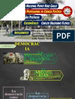 EXPO FINAL - LA DEMOCRACÍA GRIEGA Y LA DEMOCRACÍA MODERNA - SARTORI