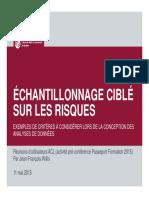 2015-05-11 Passeport Formation 2015 - Échantillonnage ciblé