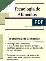 Aulas - Tecnologia de Alimentos pdf