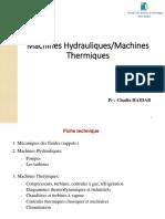 Machines Hydrauliques - Partie 1