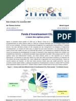 note CDC - fonds CO2