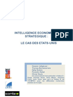 INTELLIGENCE ECONOMIQUE ET STRATEGIQUE