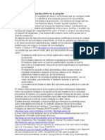 Actividades de prvención clínica en consulta