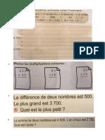 CE2-Devoirs de vacances-Unité 4-maths