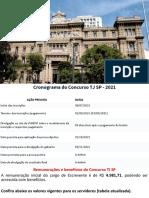 CONTEÚDO PROGRAMÁTICO TJ-SP (2017) BLOCO III Conhecimentos Gerais Atualidades