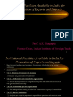 Institutional Infrastructure for Export Promotion-8