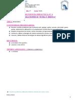SD 4 MATEMÁTICA- (SUMA Y RESTA) -3° 2021