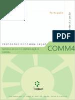 Protocolo de comunicação COMM - pt - 2.10