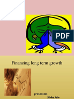 financing long growth ppt