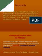 Taxonomía (parásitos de interés veterinario)