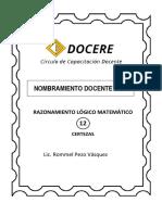 Docere Rm 12 ( 47 ) - Virtual 2021 ( Certezas )