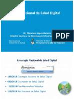 Estrategia y  Red de Salud Digital - Agosto