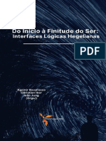 Do início à finitude do Ser - Interfaces logicas hegelianas - Agemir Bavaresco org