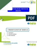 Formation Technologie Diesel NR DCP 2021