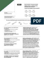 Delta Faucet Installation Manual
