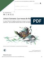 Arturo Corcuera_ Los versos de Noé _ ELDOMINICAL _ EL COMERCIO PERÚ