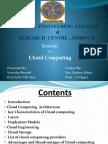 SEMINAR PPT on cloud computing