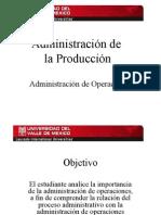 II. Administracion de Operaciones