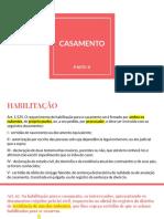 CASAMENTO II