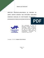 UFF - Mestrado - Merenda Escolar